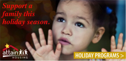 Attain Housing Holiday Programs