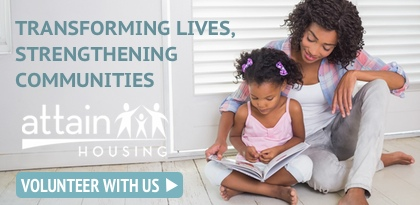 Attain Housing — Volunteer With Us