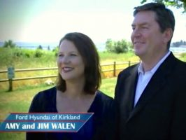 Jim and Amy Walen, Ford of Kirkland